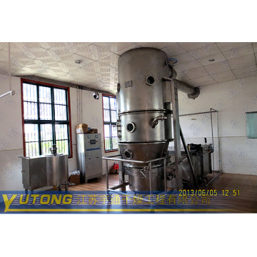 fluidized bed granulating machine