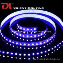 Гибкая лента SMD 5060 + 2835 RGB + W-96 светодиодов / светодиодная лента M