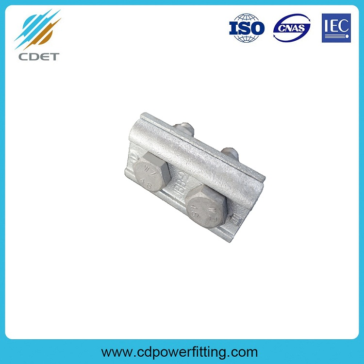 Two Bolt Aluminum Parallel Groove Clamp Cable Connector
