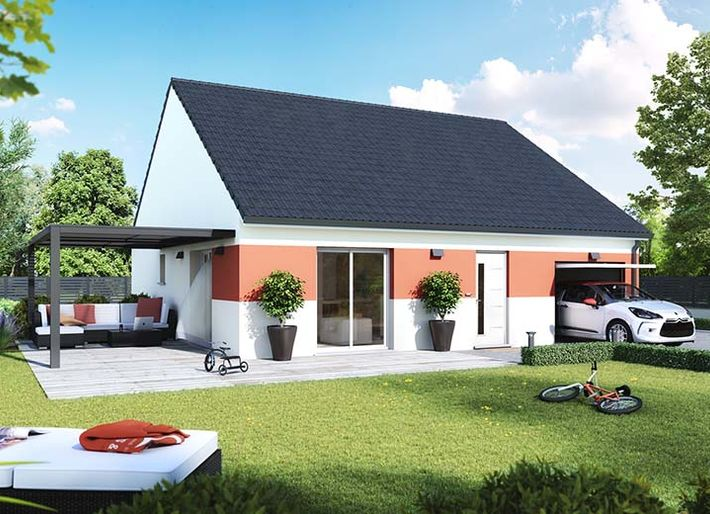 Mooi Modificeer Staal Prefab House