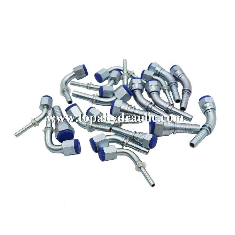 braided hose connectors