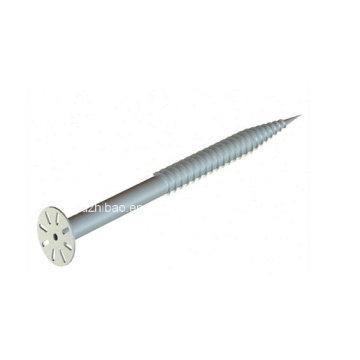 Hot DIP Galvanized Spiral Screw, Helix Ground Screw