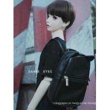 Bolsa de ombro com mochila preta BJD para boneca articulada SD / 70 cm