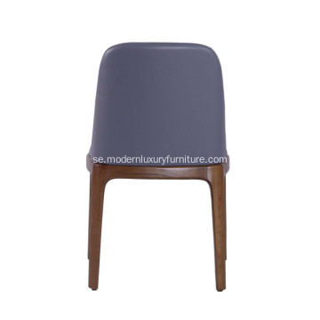 Modern Läder Grace Armless Dining Chair