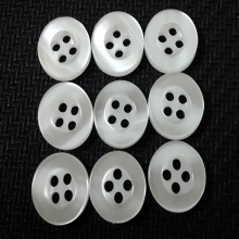 Colorful Four Holes Resin Button for Garment