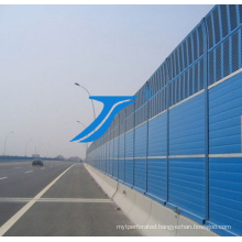 Sound Barrier in The Highway by High Impact Polycarbonate Sheet