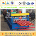Iso hidráulico de metal novo tipo de imprensa painel de telhado de chapa de ferro de aço 686 laminados a frio máquina formadora para venda