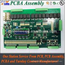 Assemblage de carte PCB d'amplificateur de projets électroniques de contrôleur de haute technologie