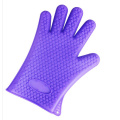 Yellow Purple Green Finger Glove Silicone Material