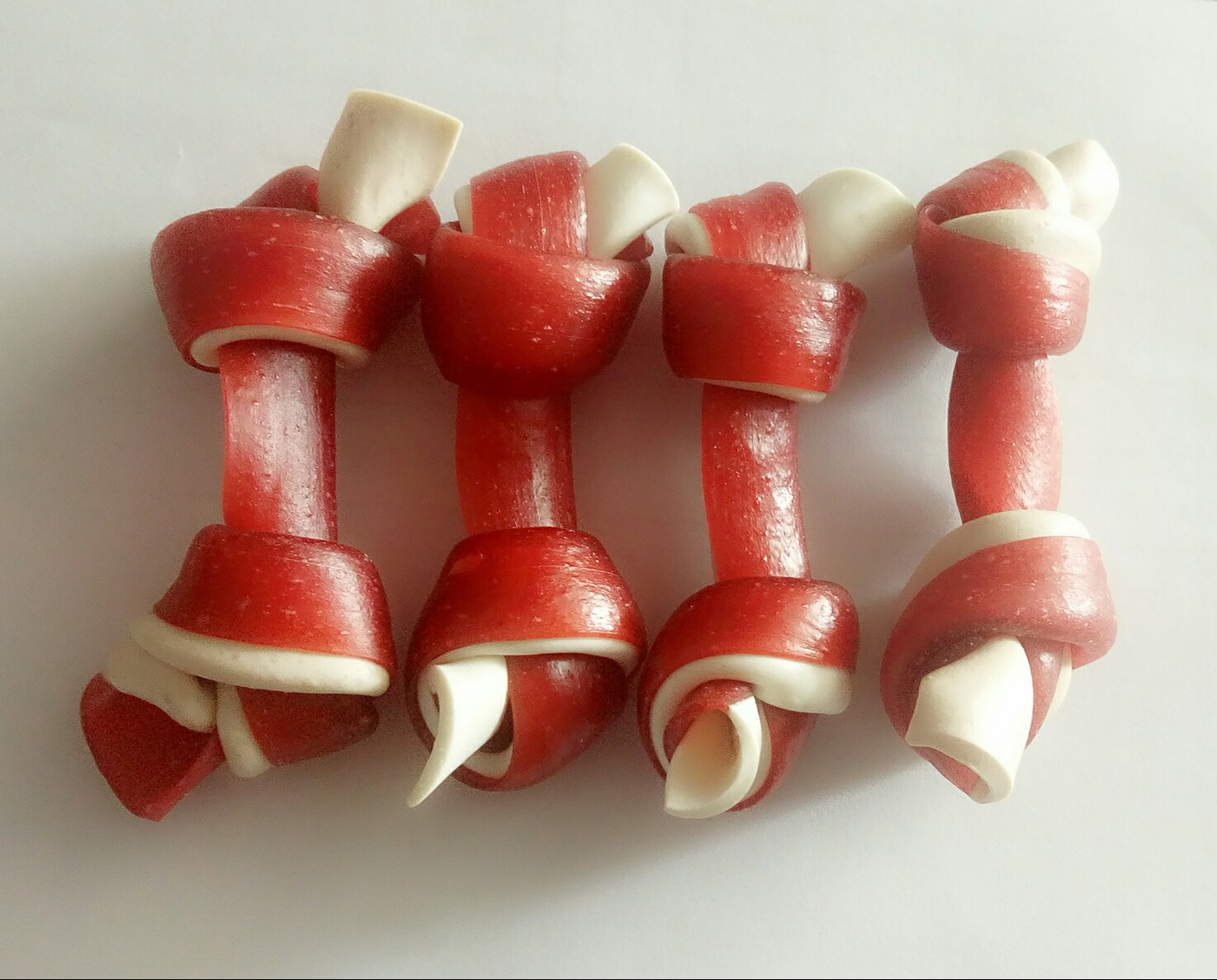 knotted bone two color for dogs