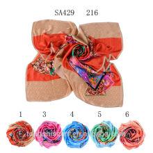 SA429 216 100 чистый шелковые шарфы 100% шелк хиджаб шали и scarvessupplier alibaba Китай