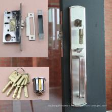 Cerradura de puerta al por mayor con el material de acero inoxidable de la cara 304 de la placa