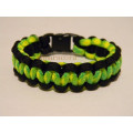 best seller plastic buckle paracord bracelet