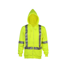 New Design Hivis Reflective Safety Hooded Sweatshirt