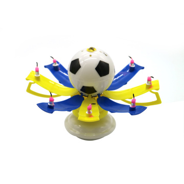 Hot Sale Non-Rotating Football Shape Candles