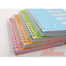 Cuaderno de clase Libre de suministros escolares Muestras