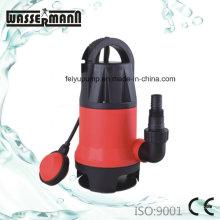 Cuerpo plástico bombas sumergibles de drenaje agua ligeramente sucia