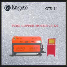 Máquina de endireitamento e corte de vergalhões GT5-14