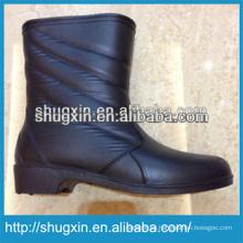 botas de lluvia de pvc durable de la mujer madura