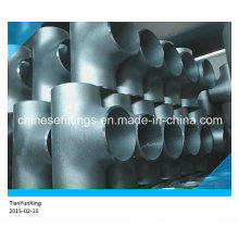 Acero inoxidable sin costura recta ANSI Asme ASTM Tee