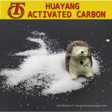 Polyacrylamide de poudre de floculant de cation anionique de polymère / PAM