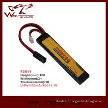 Firefox 11.1V 1100mAh batterie de Li-polymère Lipo LiPo 15C