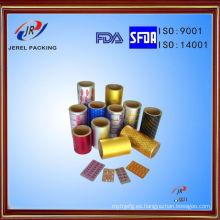 Pharmaceutical Ptp Blister Foil para comprimidos y cápsulas de embalaje