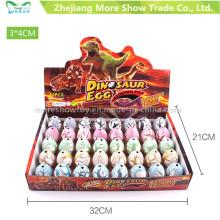 Les jouets magiques de dinosaure d'incubation ajoutent de l'eau Les oeufs de dinosaure croissants colorés
