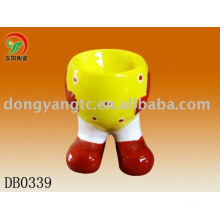 Factory direct wholesale ceramic easter egg cup