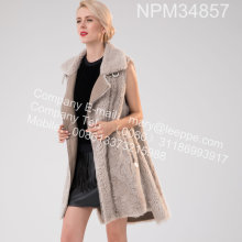 Islandia Gilet Fur Fur Women In Winter