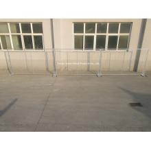 Clôture temporaire à haute visibilité soudée en fil métallique