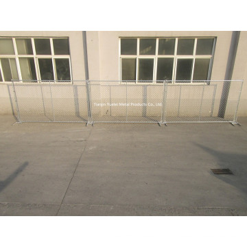 High Visibility Welded Wire Mesh Temporary Fence
