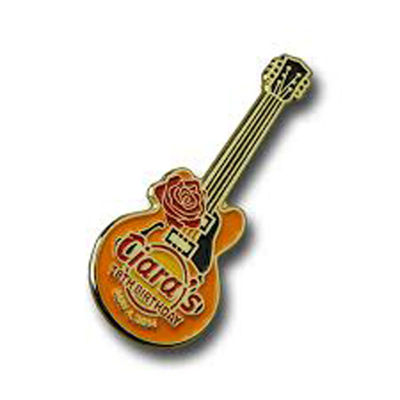 Custom Guitar Lapel Pins