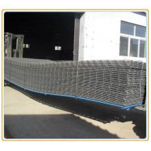 Malla cuadrada de refuerzo de acero para construcción de hormigón