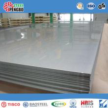 Folha de aço inoxidável profissional do ASTM AISI 304