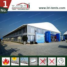 Zweistöckiges Zelt-Doppeldecker-Zelt-zweistöckiges Zelt als Ausstellungsereignis-Partei im Freien