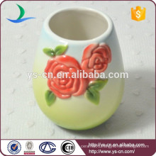 special red rose tumbler of bathroom fittings set