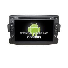 Quad core! Dvd do carro com link espelho / DVR / TPMS / OBD2 para 7 polegadas tela sensível ao toque quad core 4.4 sistema Android Renault Duster