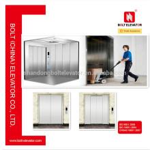 2000 ~ 5000kg Capacité et 0.5m / s ~ 1.0m / s Machine Room Freight Elevator Lift