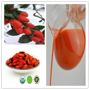 Certified Hot sale Organic wolfberry nature juice