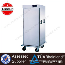 Restaurant Kitchen Equipment Mobile Electric Plate warmer cart