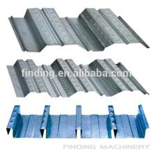 Estrutura de aço da alta qualidade do assoalho do decking Perfiladeira com padrão do CE