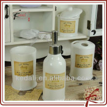 new product ceramic bathroom sets for hotel