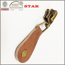 Leder Zipper Abzieher für fertigen Reißverschluss