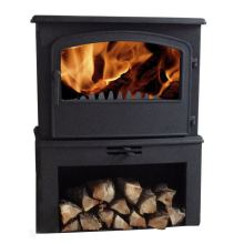 Traditional Wood Burning Stove, Cast Iron Stove