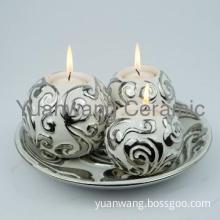 Ceramic Tea Light Citronella Candle Stick