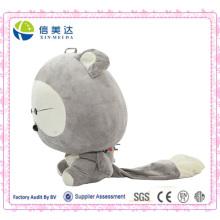 Pequeño juguete del mapache juguete muñeca de dibujos animados animal mapache