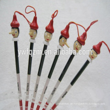Heißer Verkauf aus Holz Pinocchio Design Bleistift