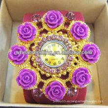 Relojes de cuero grandes coloridos de moda de Digitaces de la muñeca 2013 para la promoción WW50