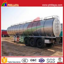 Dieselkraftstoff-Speicher-Transport-LKW-halb Anhänger-Aluminiumbehälter